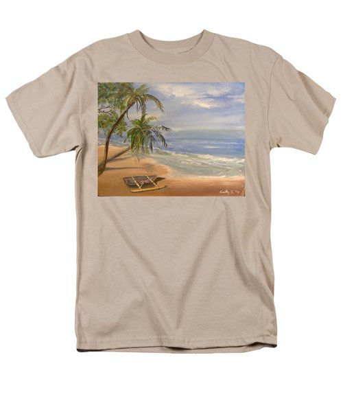 A Quiet Place Men's T-Shirt  (Regular Fit) by Catherine Swerediuk