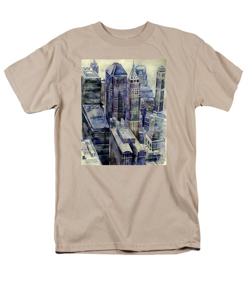 Rainy Day In Gotham Men's T-Shirt  (Regular Fit) by Jeffrey S Perrine