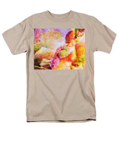 Men's T-Shirt  (Regular Fit) featuring the painting A Summer Afternoon Love by Joe Misrasi