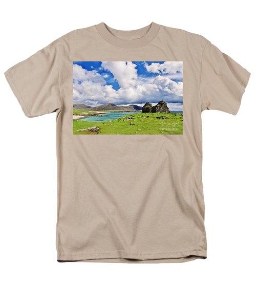 Men's T-Shirt  (Regular Fit) featuring the photograph A Sunny Day In The Hebrides by Juergen Klust