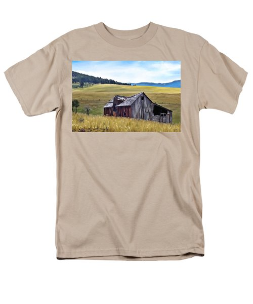 A Time In Montana Men's T-Shirt  (Regular Fit) by Susan Kinney