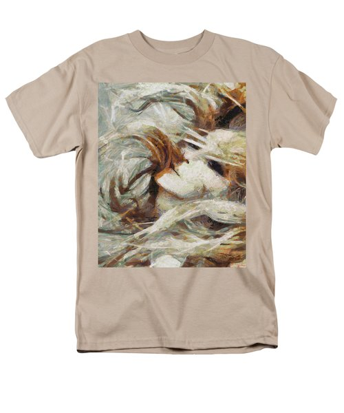 Men's T-Shirt  (Regular Fit) featuring the painting A Wild Dance by Joe Misrasi
