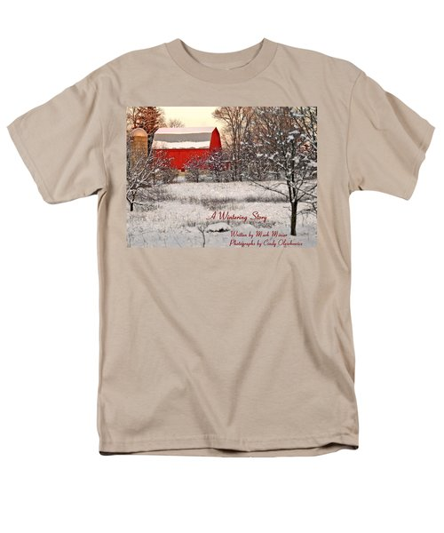 A Wintering Story Men's T-Shirt  (Regular Fit) by Mark Minier