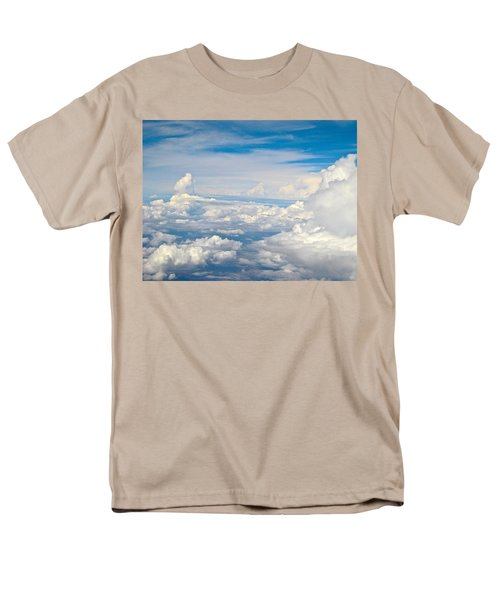 Above The Clouds Over Texas Image B Men's T-Shirt  (Regular Fit) by Byron Varvarigos