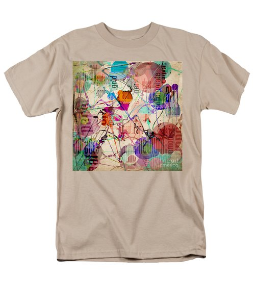 Men's T-Shirt  (Regular Fit) featuring the digital art Abstract Expressionism by Phil Perkins