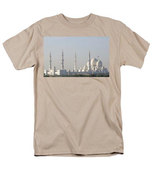 Abu Dhabi Sheikh Zayed Grand Mosque Men's T-Shirt  (Regular Fit)