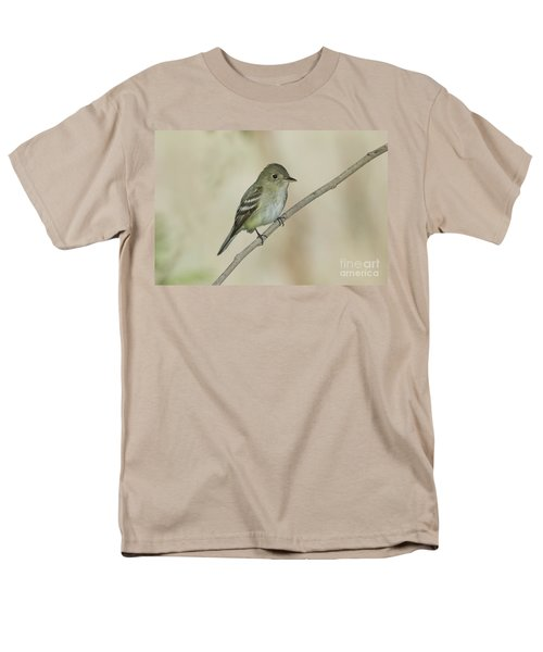 Acadian Flycatcher Men's T-Shirt  (Regular Fit) by Anthony Mercieca