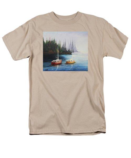 Acrylic Msc 110  Men's T-Shirt  (Regular Fit) by Mario Sergio Calzi
