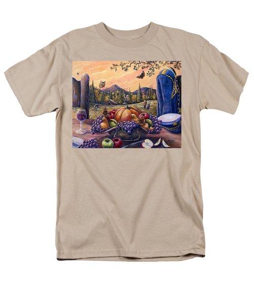 Admirals Harvest Men's T-Shirt  (Regular Fit) by Gail Butler