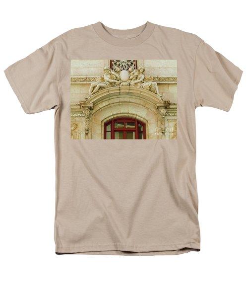 Men's T-Shirt  (Regular Fit) featuring the photograph Adolphus Hotel - Dallas #4 by Robert ONeil