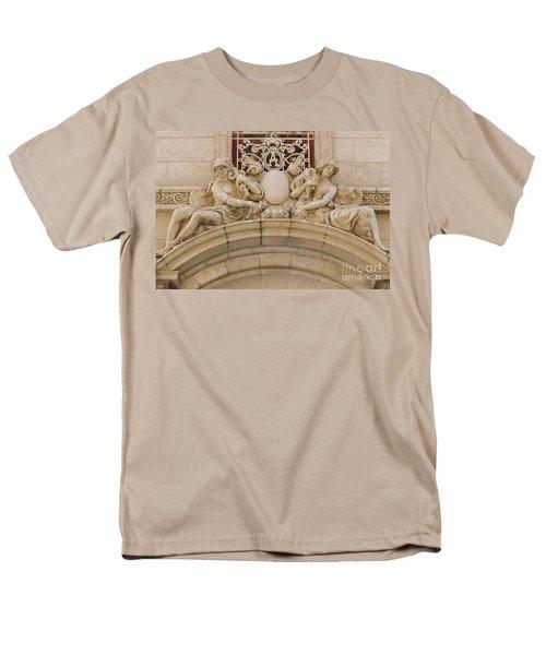 Men's T-Shirt  (Regular Fit) featuring the photograph Adolphus Hotel - Dallas #5 by Robert ONeil