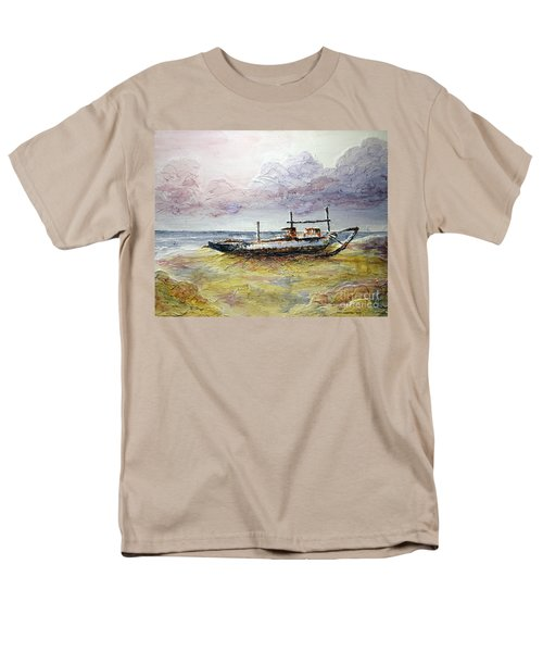 Men's T-Shirt  (Regular Fit) featuring the painting After The Storm by Joey Agbayani