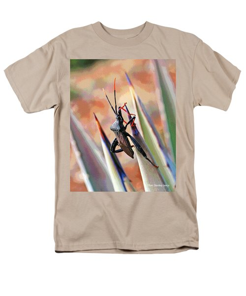 Men's T-Shirt  (Regular Fit) featuring the photograph Agave Bug  by Tom Janca