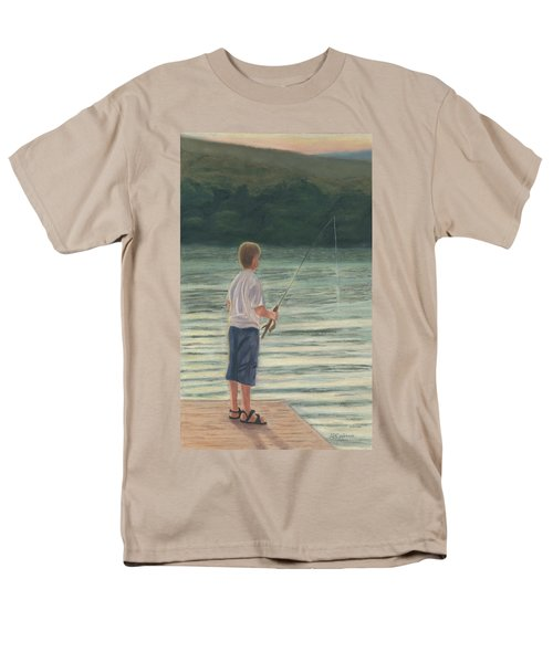 Men's T-Shirt  (Regular Fit) featuring the painting All Day Long by Arlene Crafton