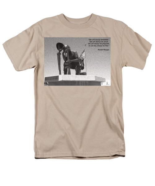 Men's T-Shirt  (Regular Fit) featuring the photograph Always Remember by Glenn McCarthy Art and Photography