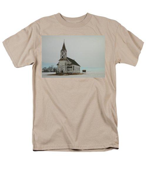 Amazing Grace In North Dakota Men's T-Shirt  (Regular Fit) by Jeff Swan