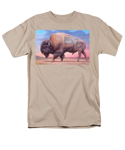American Buffalo Men's T-Shirt  (Regular Fit) by Hans Droog