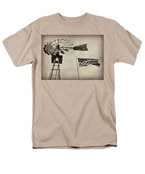 Americana Men's T-Shirt  (Regular Fit)