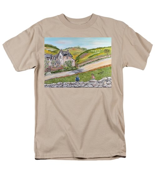 An Afternoon In June  Men's T-Shirt  (Regular Fit) by Loredana Messina