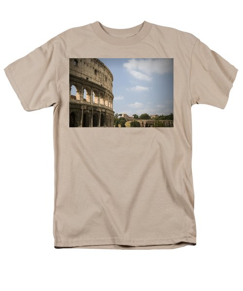 Men's T-Shirt  (Regular Fit) featuring the photograph Ancient Colosseum by Jeremy Voisey