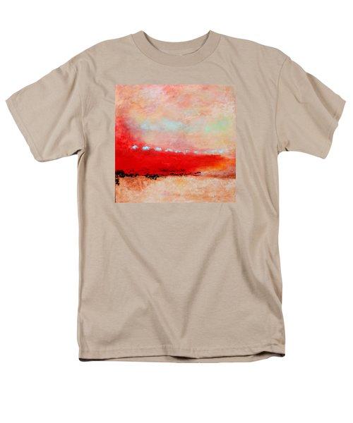 Men's T-Shirt  (Regular Fit) featuring the painting Ancient Dreams by M Diane Bonaparte