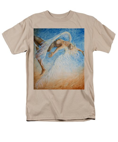 Angel Blu Drifter Men's T-Shirt  (Regular Fit) by Nik Helbig