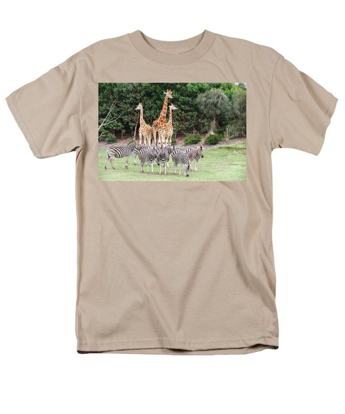 Animal Kingdom I Men's T-Shirt  (Regular Fit) by Ray Warren
