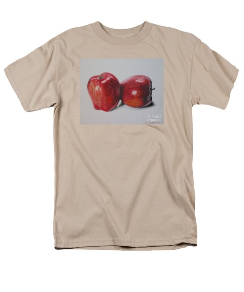 Men's T-Shirt  (Regular Fit) featuring the pastel Apple Study by Wil Golden