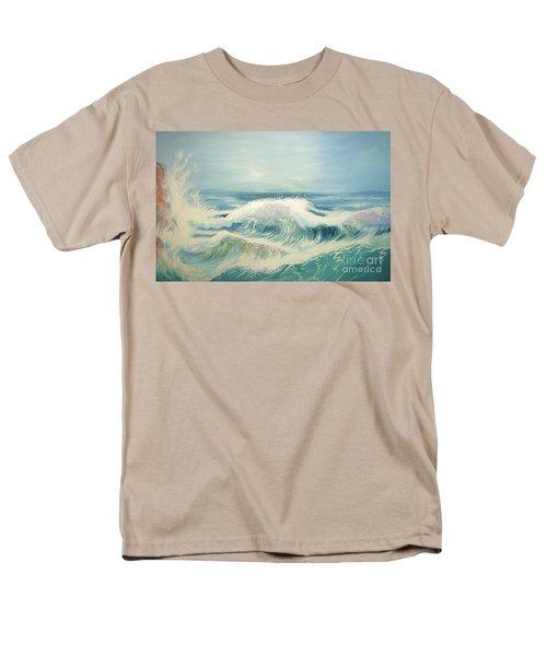 Aqua Sea Scape Men's T-Shirt  (Regular Fit)
