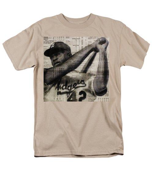 Art In Thenews 16-jackie Men's T-Shirt  (Regular Fit) by Michael Cross