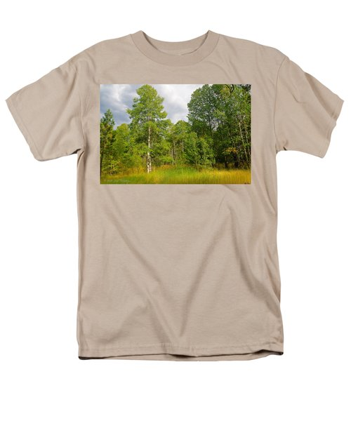 Men's T-Shirt  (Regular Fit) featuring the photograph Aspen And Others by Jim Thompson
