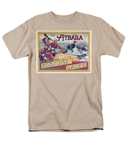 Men's T-Shirt  (Regular Fit) featuring the photograph Atbara Porpoise Laces Vintage Ad by Gianfranco Weiss