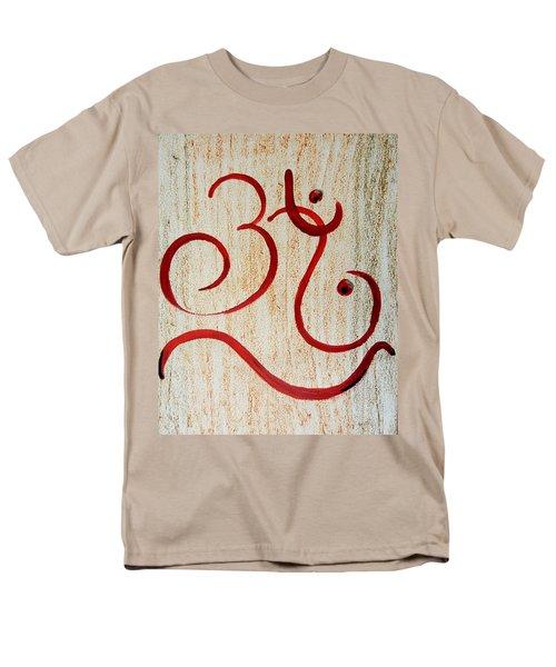 AUM Men's T-Shirt  (Regular Fit) by Kruti Shah