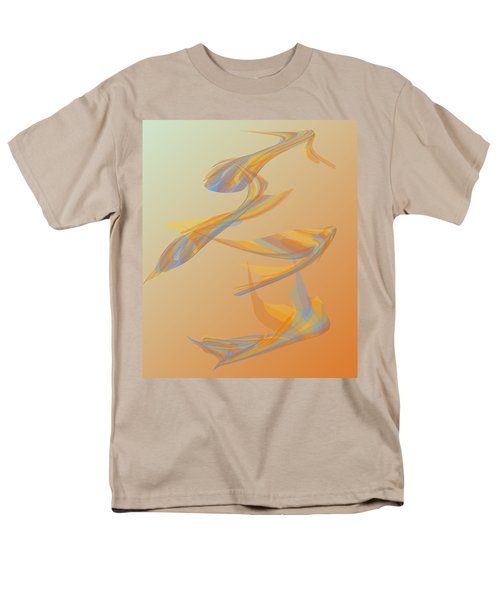 Men's T-Shirt  (Regular Fit) featuring the digital art Autumn Migration by Stephanie Grant