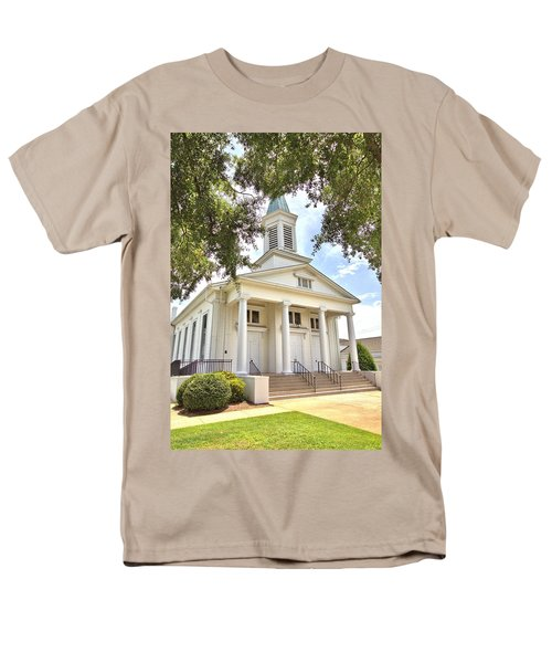 Men's T-Shirt  (Regular Fit) featuring the photograph Awaiting The Congregation by Gordon Elwell