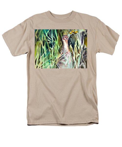 Baby Wild Turkey Men's T-Shirt  (Regular Fit) by Mindy Newman