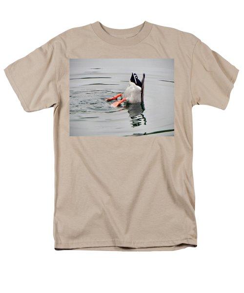 Men's T-Shirt  (Regular Fit) featuring the photograph Bad Landing by Deb Halloran