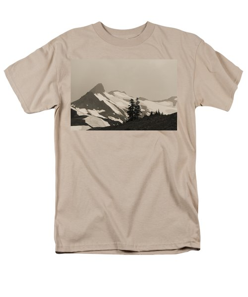 Men's T-Shirt  (Regular Fit) featuring the photograph Fog In Mountains by Yulia Kazansky