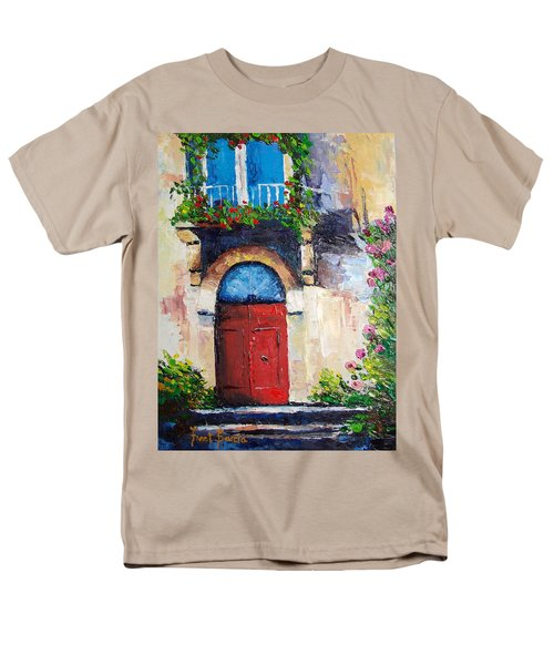 Balcony Men's T-Shirt  (Regular Fit) by Janet Garcia