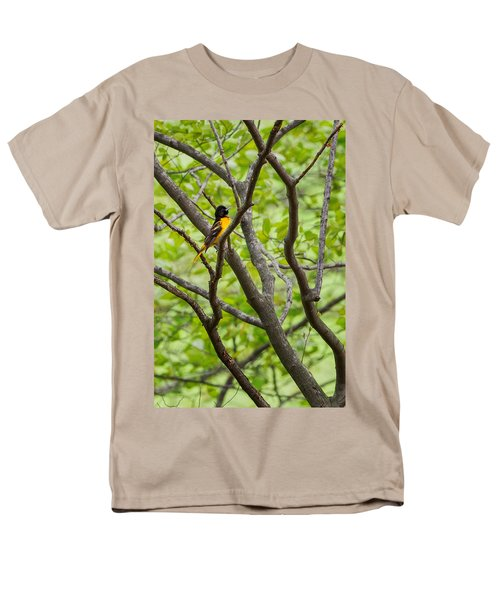 Baltimore Oriole Men's T-Shirt  (Regular Fit) by Bill Wakeley