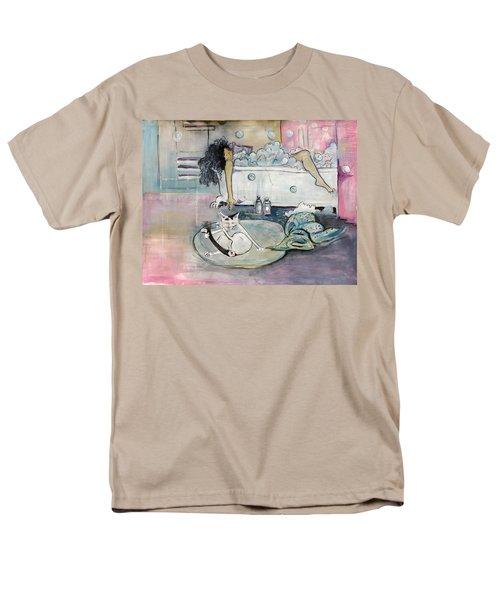 Bath Time Men's T-Shirt  (Regular Fit) by Leela Payne