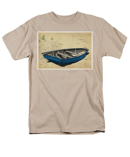 Beached Men's T-Shirt  (Regular Fit) by Meg Shearer