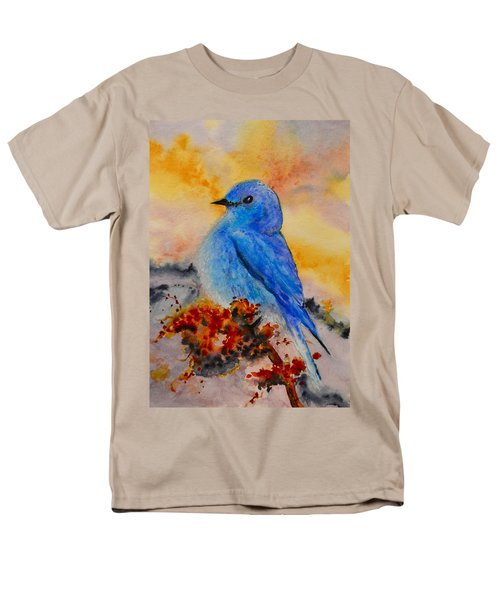 Men's T-Shirt  (Regular Fit) featuring the painting Before The Song by Beverley Harper Tinsley