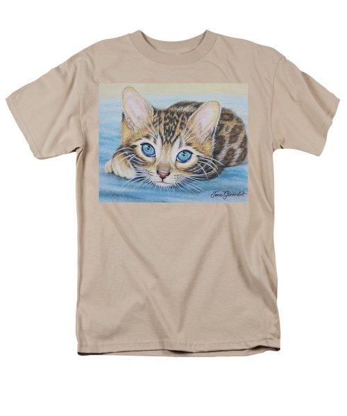 Bengal Kitten Men's T-Shirt  (Regular Fit)