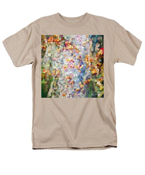 Berries Around The Tree - Abstract Art Men's T-Shirt  (Regular Fit) by Kerri Farley