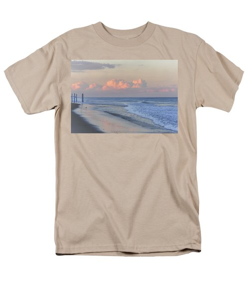 Better Days Ahead Seaside Heights Nj Men's T-Shirt  (Regular Fit) by Terry DeLuco