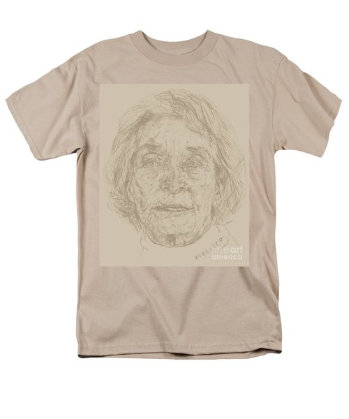 Men's T-Shirt  (Regular Fit) featuring the drawing Beverly by  Maestro