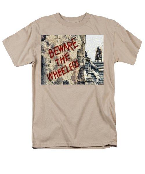 Beware The Wheelers Men's T-Shirt  (Regular Fit) by Joe Misrasi