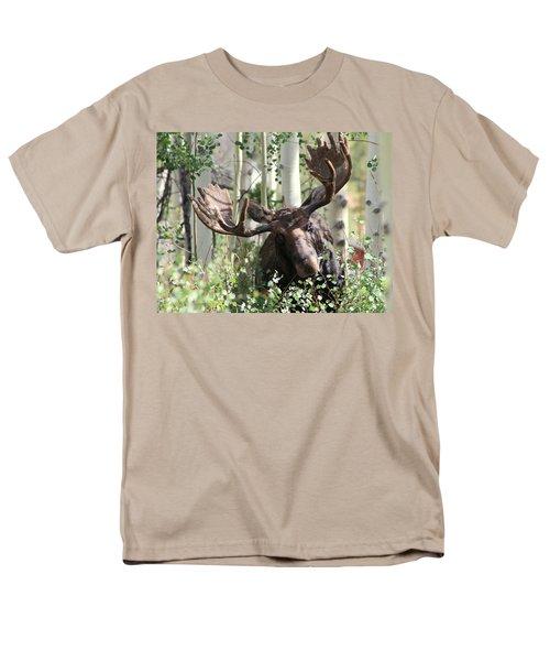 Big Daddy The Moose 3 Men's T-Shirt  (Regular Fit) by Fiona Kennard