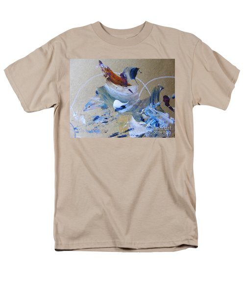 Men's T-Shirt  (Regular Fit) featuring the painting Bird Song by Nancy Kane Chapman